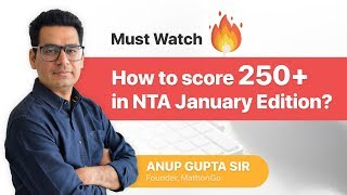 Download How to score a 250 plus at NTA IIT JEE Mains January attempt 🔥🔥 Spoiler: 3 steps to do that Video