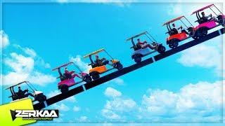 Download CRAZIEST CADDY COASTER RACE! (GTA 5) Video