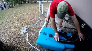 Download RV Portable Waste Tank - Our Blue Pooper Video