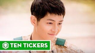 Download Top 10 vai diễn nổi bật nhất của Song Joong Ki   Ten Tickers Asia 2 Video