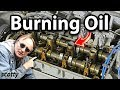 Download Fixing An Oil Burning Engine For 10 Bucks Video