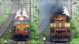 Download Extraordinary Supporters - EXPRESS TRAINS with BANKERS - Indian Railways !! Video