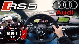 Download CRAZY !!! 2018 Audi RS5 2.9 V6 Bi-Turbo | TOP SPEED on German Autobahn! ✔ Video