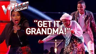 Download 16-Year-Old and grandmother steal the show in The Voice! | Journey #28 Video