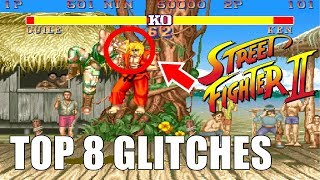 Download Top 8 Crazy, Funny, and Game Breaking Glitches for Street Fighter 2!!! Video