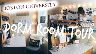 Download DORM ROOM TOUR | boston university freshman Video