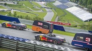 Download A Caravan Race with an F1 twist! Daniel Ricciardo and Max Verstappen take it to the Red Bull Ring Video
