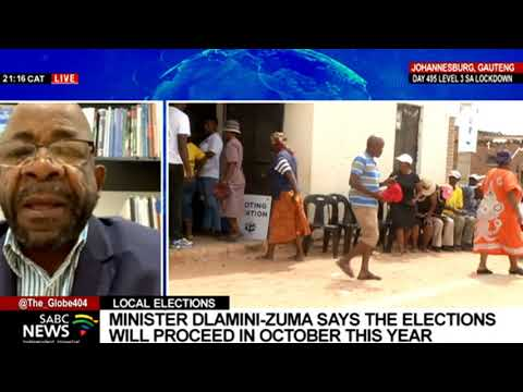 Reflecting on Minister Dlamini-Zuma's briefing on elections with Terry Tselane