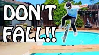 Download RISKIEST GAME OF SKATE EVER!!! | Garrett Ginner Video