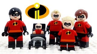 Download Lego Disney Pixar Incredibles 2 - Stop Motion Cartoon For Kids | Compilation LuckyCleverToys Video