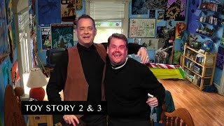 Download James Corden and Tom Hanks Act Out Tom's Filmography Video