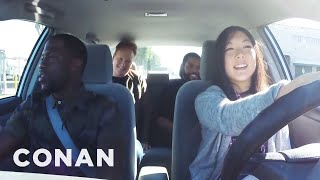 Download Ice Cube, Kevin Hart And Conan Help A Student Driver - CONAN on TBS Video
