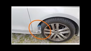 Download Warning! Horrible New Trick: If You See Plastic Bottle On Your Tire, You Are At Risk Video