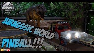 Download JURASSIC WORLD Y JURASSIC PARK PINBALL!!! FLIPANTE!!!!!! Video