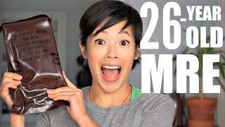 Download 26-Year Old MRE | Meatballs in Barbecue Sauce Video