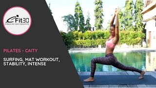 Download Pilates Core Strength For Surfing with Caity - eFit30 Video