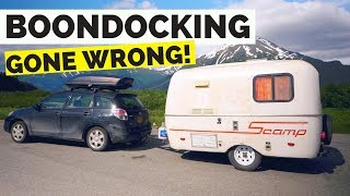 Download Boondocking in Alaska Gone Wrong! Tips We Learned On the Road Video