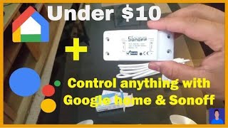 Download How to Use Sonoff Wifi Switch With Google Home Video