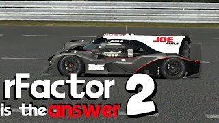 Download rFactor 2 Is The Answer - Best Physics, Most Features, Yet Ignored?! Video