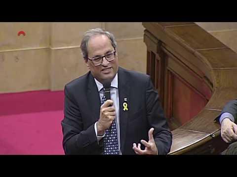 Sessió de control al president de la Generalitat 07/11/2018