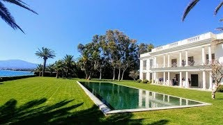 Download President@agent4stars Palatial Marbella beach mansion for sale Video