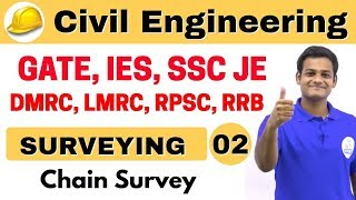 Download 9:00 AM   Civil by Nikhil Sir   Day #02   Surveying   Chain Surveying Video