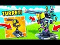 Download ARRIVA LA TORRETTA MONTATA, MOUNTED TURRET!! — Fortnite ITA Video
