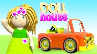 Download Dollhouse cartoon full episodes: A doll cartoon - Educational cartoons for babies Video
