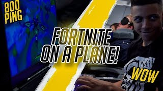 Download I PLAYED FORTNITE ON A PLANE! - VLOG #007 Video