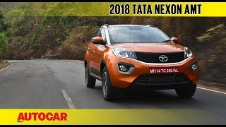 Download Tata Nexon AMT automatic | First Drive Review | Autocar India Video