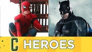 Download Spider-Man Homecoming Trailer, The Batman Release Before Justice League Part 2 - Collider Heroes Video