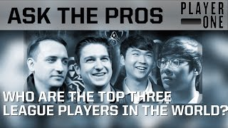 Download Ask the pros: Who are the top 3 League players in the world? Video