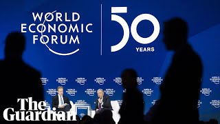 Download Davos: Steven Mnuchin and Christine Lagarde attend session on global economic outlook – watch live Video