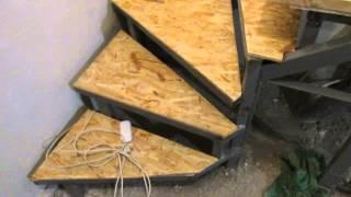 Download Steps of the second floor, with his hands. Деревянные ступеньки на второй этаж, своими руками, Video