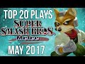 Download Top 20 SSBM Plays of May 2017 - Super Smash Bros Melee Video