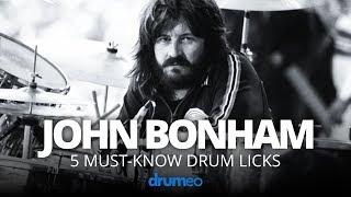 Download 5 Must-Know John Bonham Drum Licks (Drum Lesson) Video