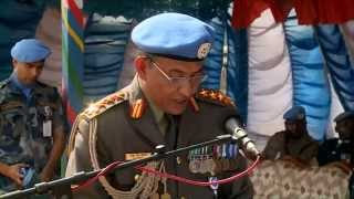 Download UNMIL Awards Nepal Formed Police Units 1 and 3 with UN Medals Video