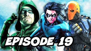 Download Arrow 5x19 TOP 10 and Teen Titans Series Deathstroke Explained Video