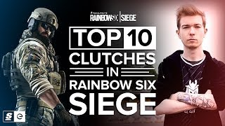 Download Top 10 Clutches in Rainbow Six Siege Video