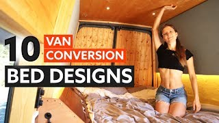 Download 10 Awesome BED DESIGNS for your VAN CONVERSION 🛏 🚐 Video