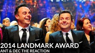 Download Ant & Dec's NTA Landmark Award - Their Reaction Video