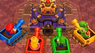 Download Mario Party 10 - Minigames - Mario vs Luigi vs Peach vs Yoshi Video