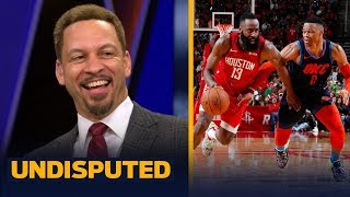 Download Harden or Westbrook? Chris Broussard picks who has the more impressive streak | NBA | UNDISPUTED Video
