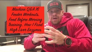 Download Machine Q&A 16 | Feeder Workouts, Food Before Morning Training, How I Fixed High Liver Enzymes Video