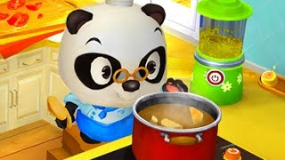 Download Baby Panda Chef & Choose The Vegetables & Use The Kitchen To Make The Pizza | Cooking Game For Kids Video