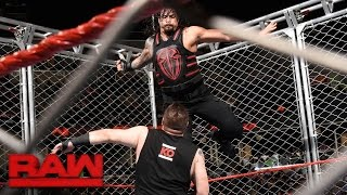 Download Roman Reigns vs. Kevin Owens - Steel Cage Match: Raw, Sept. 19, 2016 Video