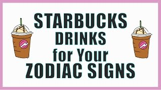 Download The STARBUCKS Drink For Your ZODIAC Sign Video