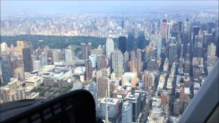 Download HELICOPTER RIDE in NEW YORK CITY ( NYC ) - 15 minutes - start to finish Video