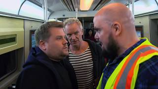 Download James Corden, Sting, & Shaggy Attempt Subway Karaoke | 60th GRAMMYs Video