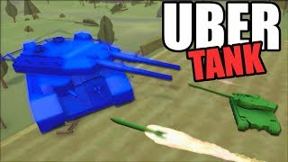 Download Ze New UBER TANK! Germany's Ratte Biggest Tank EVER MADE! (Total Tank Simulator Update Gameplay) Video
